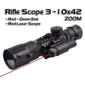 RIFLE SCOPE 3-10X42 OEM MAIN