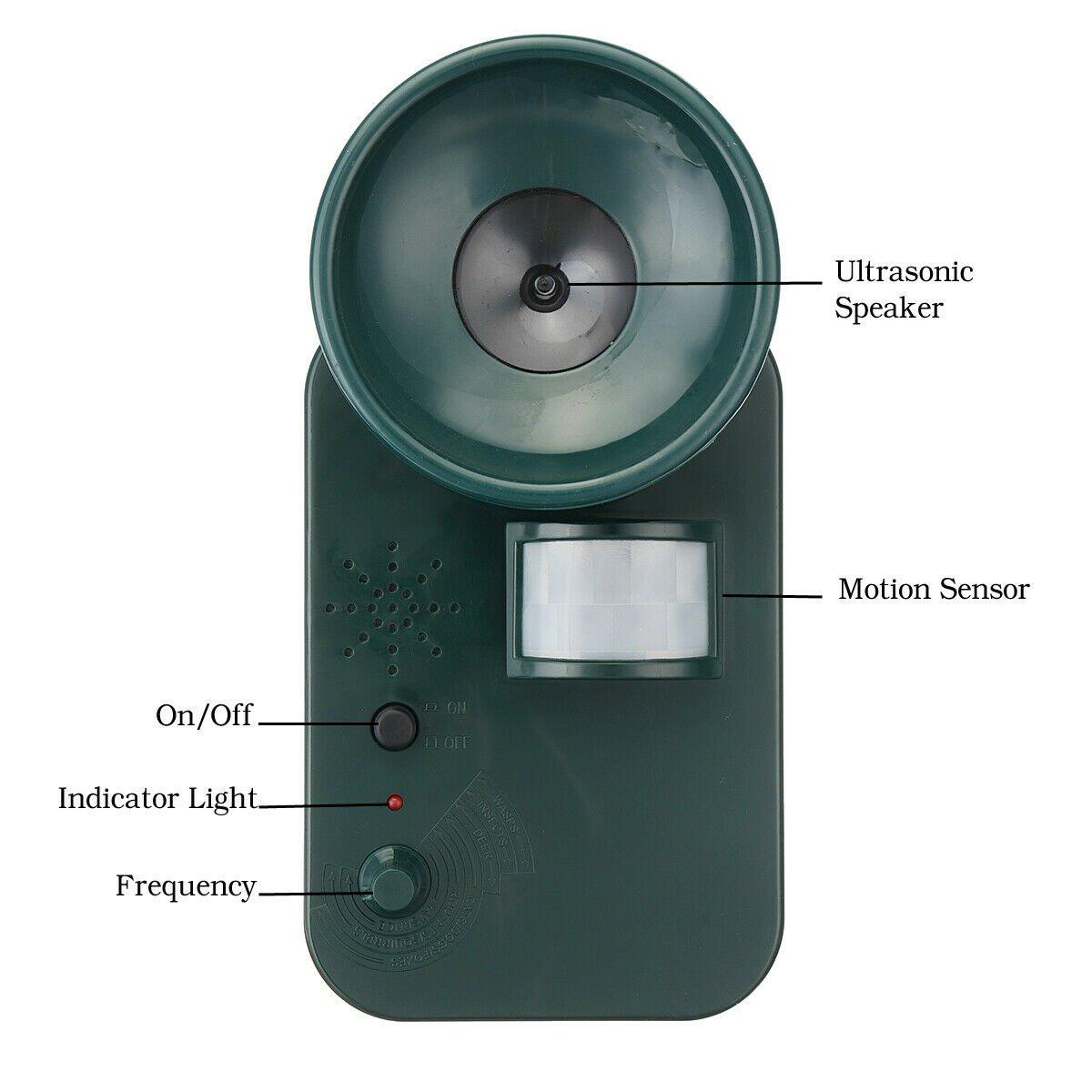 Ultrasonic Cordless Repeller Main 2