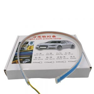 2-pcs-12v-car-daytime-running-lights-soft-article-lamp-white-light-length-30cm-oem