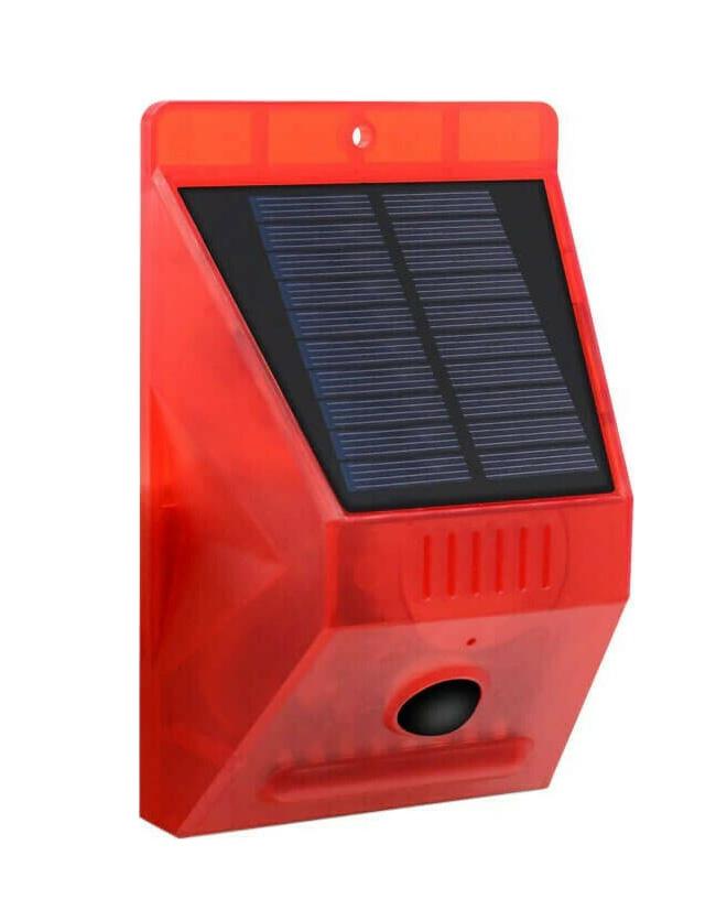 Ηλιακό Φως με Αισθητήρα Κίνησης και Σειρήνα Q-L911C 1