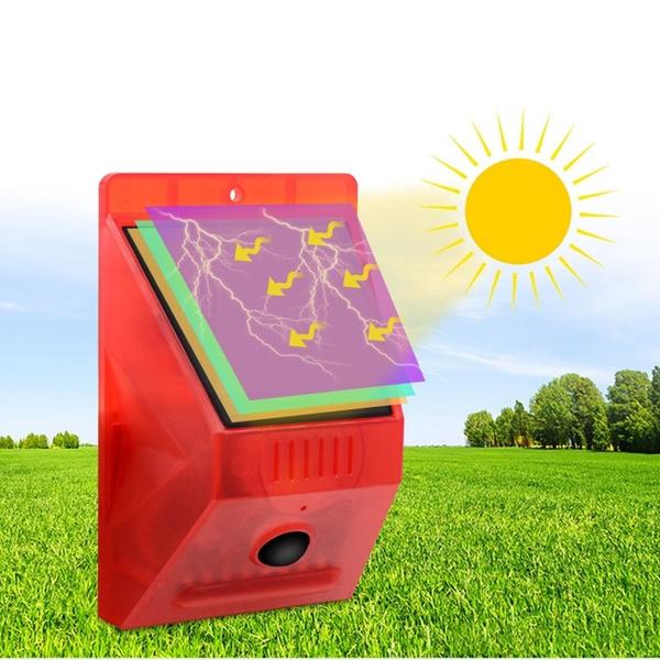 Ηλιακό Φως με Αισθητήρα Κίνησης και Σειρήνα Q-L911C 3