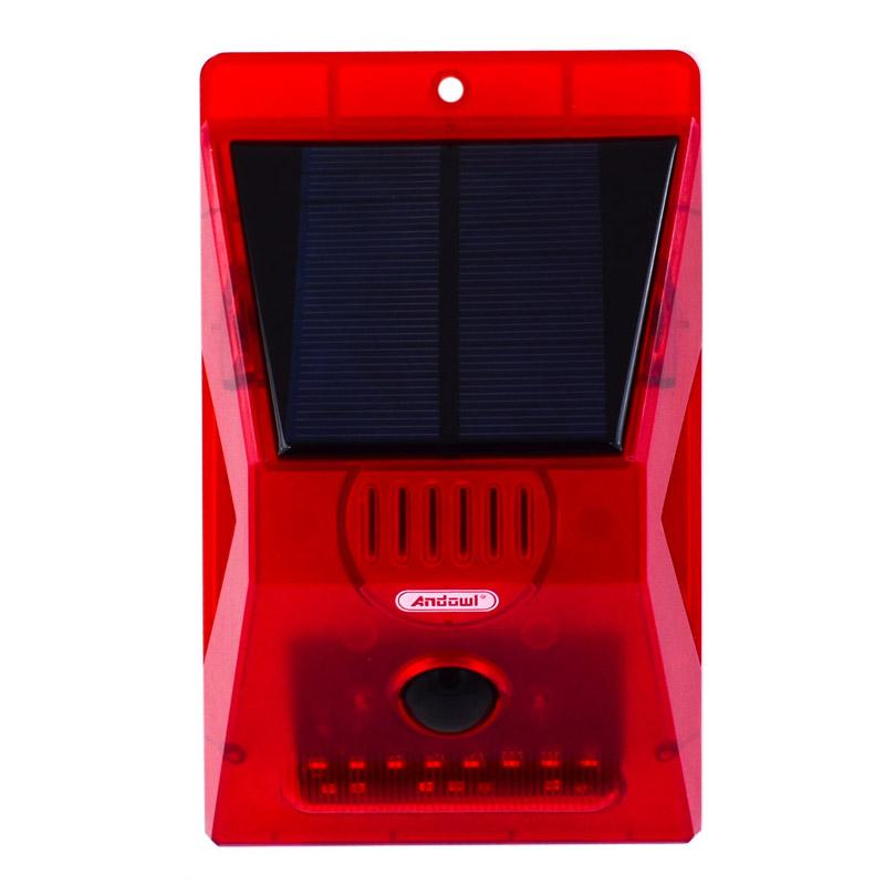 Ηλιακό Φως με Αισθητήρα Κίνησης και Σειρήνα Q-L911C 9